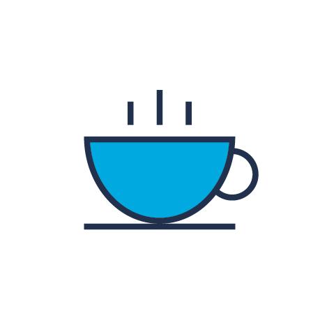 Coffee and tea hospitality image