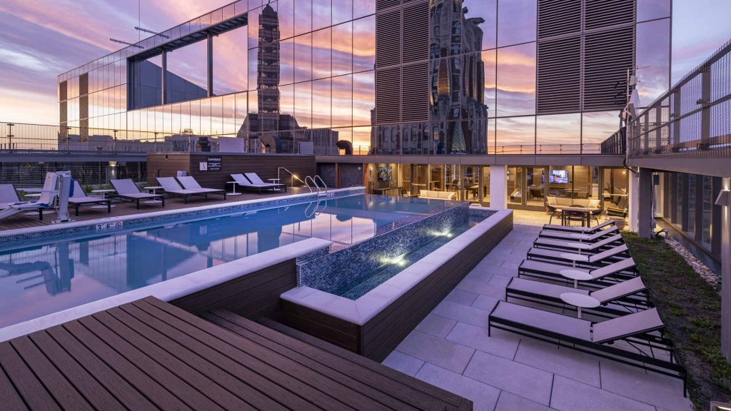 pool at luminary baltimore